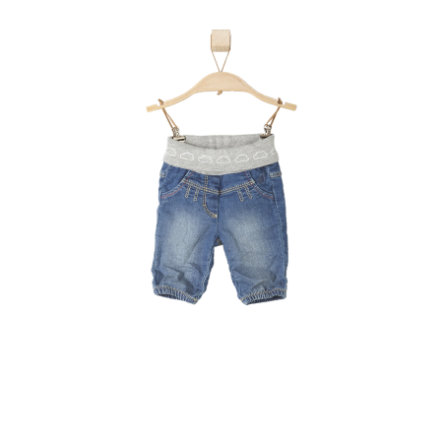 s.OLIVER Girls Spodnie Jeans blue denim