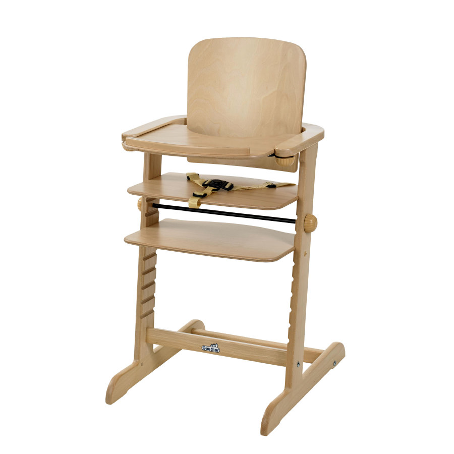 GEUTHER Highchair Family Natural