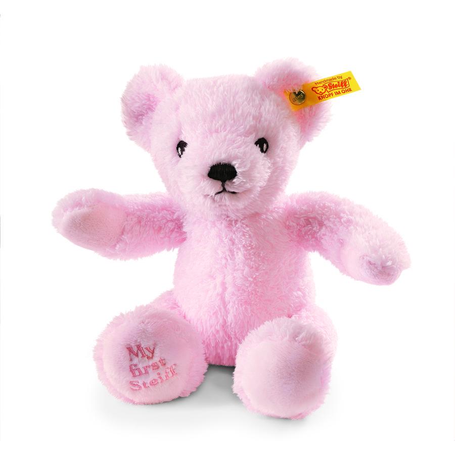 STEIFF Můj první Steiff medvídek, růžový 24cm