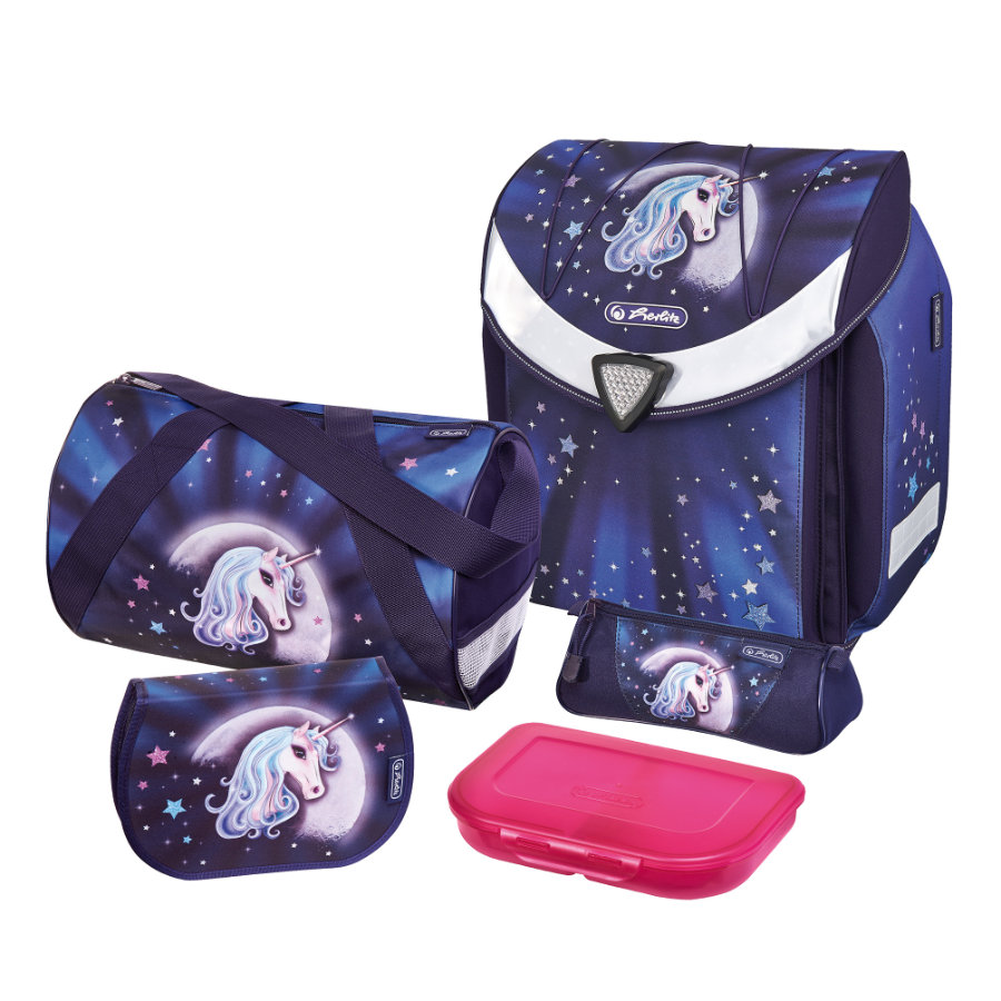 HERLITZ Schulranzen Flexi Plus Set - Starlight