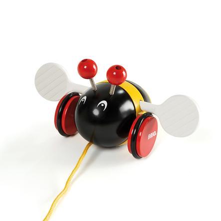 BRIO Zabawka do ciągnięcia Dziki bączek