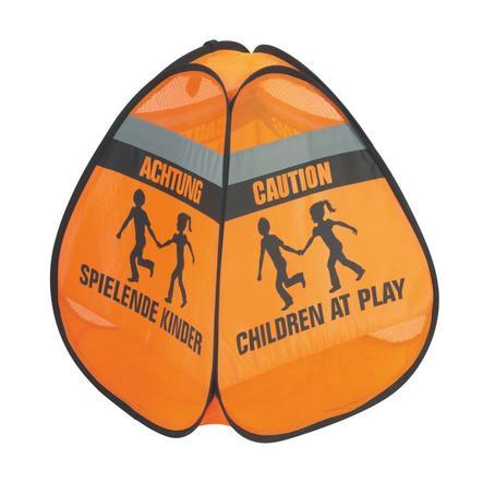 REER 3D-Verkeersbord- Spelende kinderen