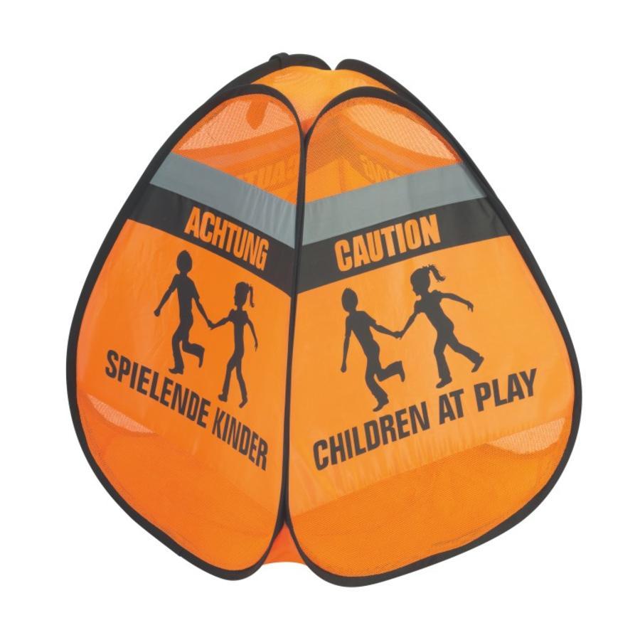 REER Panneau de signalisation 3D - Enfants qui jouent