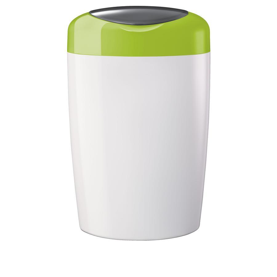 SANGENIC Koš na pleny SIMPLEE zeleno/bílý