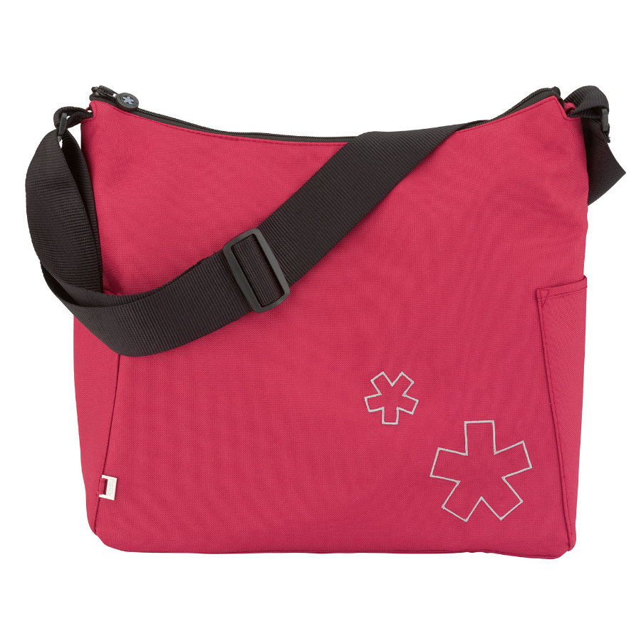 KIDDY Wickeltasche Babybag Cranberry