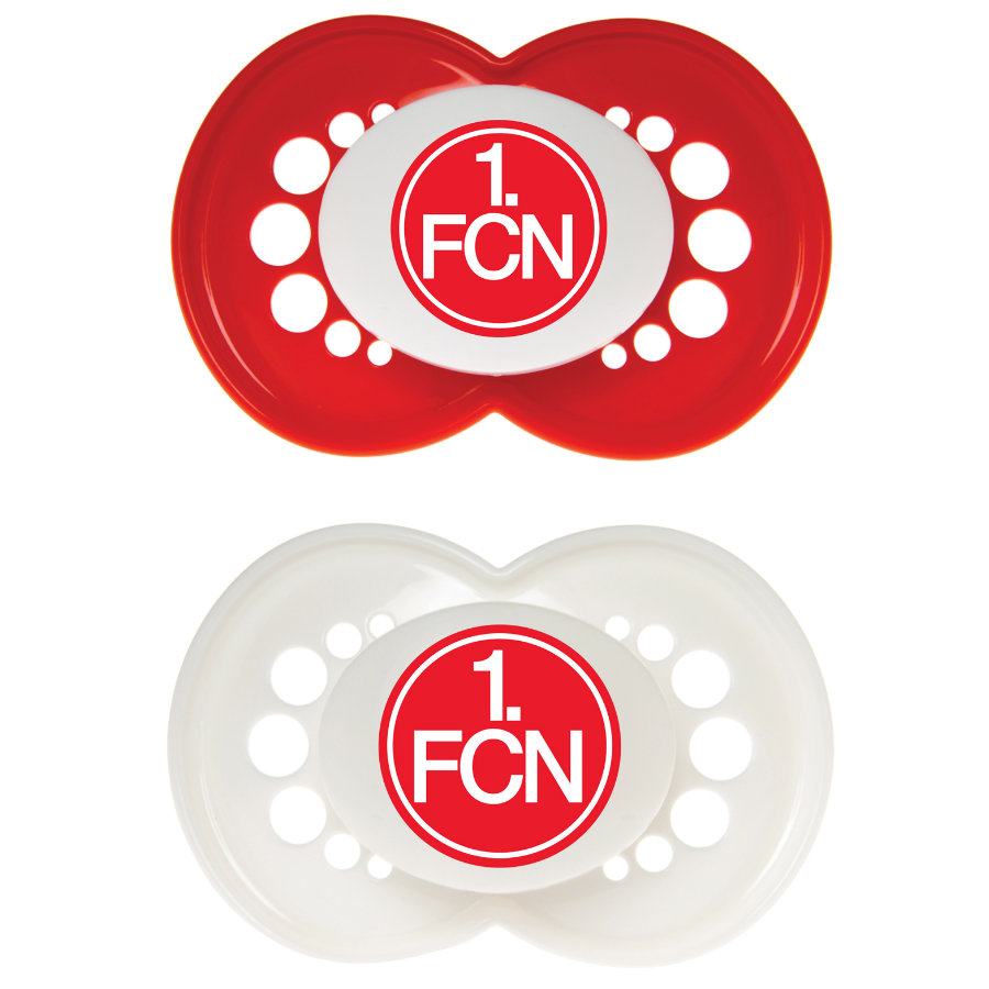 MAM Ulti Silicone Pacifier / Dummy 1. FC NÜRNBERG 6-16 Months