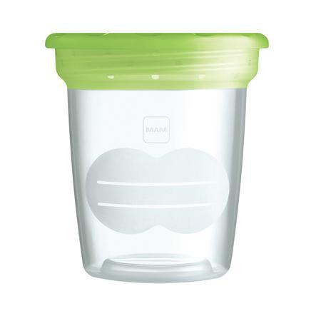 MAM Boîtes de conservation pour lait maternel et nourriture bébé