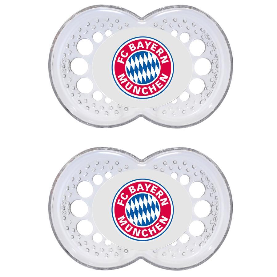 MAM Silikon-Schnuller Bundesliga 6-16 Monate FC Bayern München