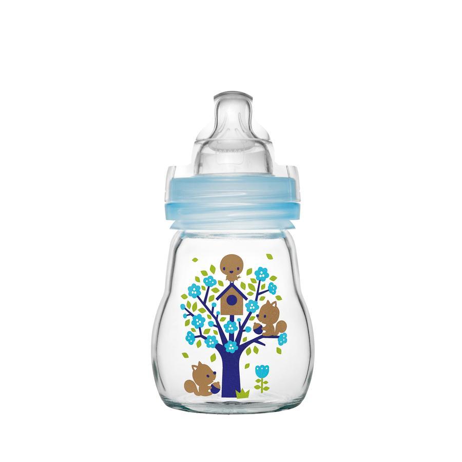 MAM Glasflasche Feel Good blau 170 ml 0+ Monate