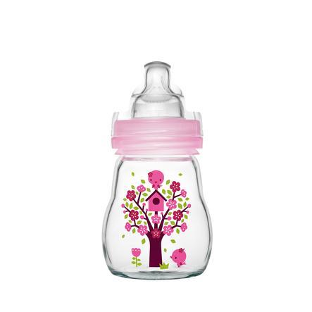 MAM Glasflasche Feel Good 170 ml 0+ Monate für Mädchen