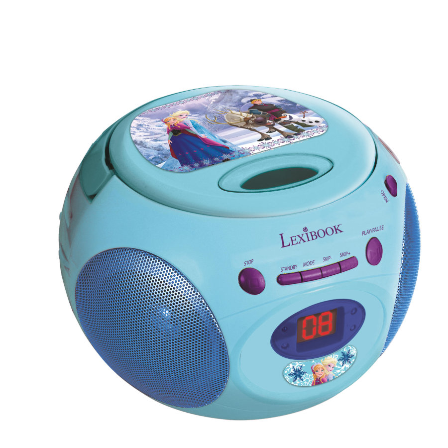 LEXIBOOK® Frozen Lettore CD-Player Boombox