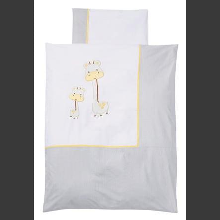 EASY BABY Ložní prádlo 80 x 80 cm GIRAFFE white