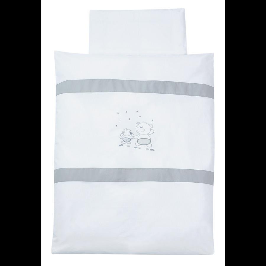 EASY BABY Ložní prádlo 80 x 80 cm FRIENDS grey