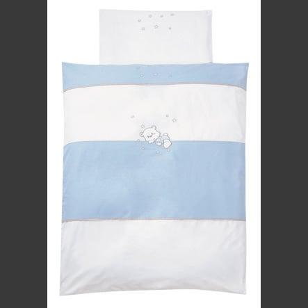 EASY BABY Ložní prádlo 80 x 80 cm BEAR blue