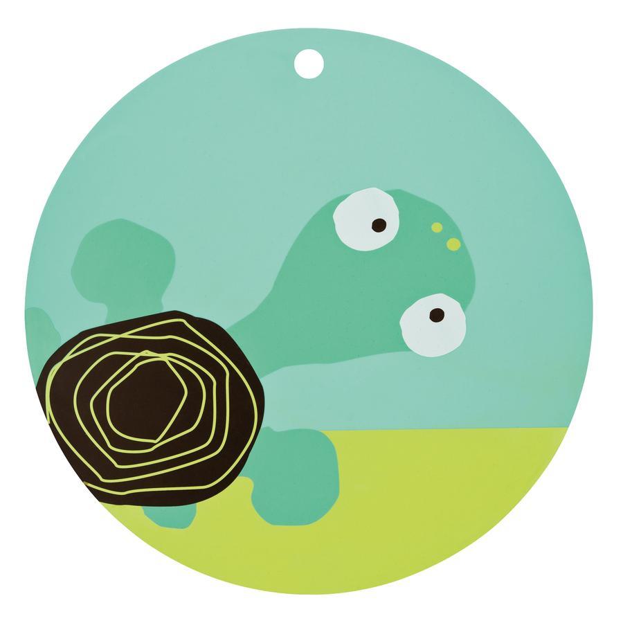 LÄSSIG Tovaglietta in Silicone Placemat Turtle