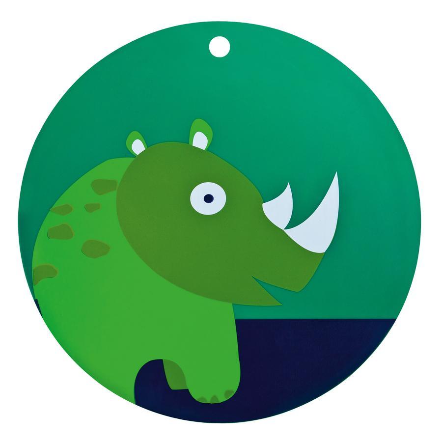 LÄSSIG Silikonová podložka nosorožec