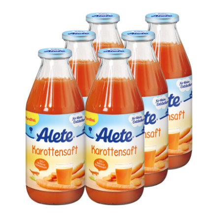 ALETE Organic Carrot Juice 6 x 500 ml