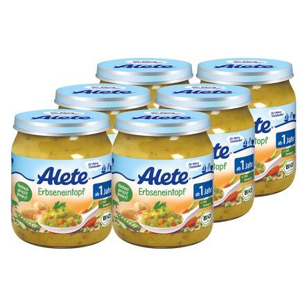 ALETE Little Discoverer Pea Soup 6 x 250 g