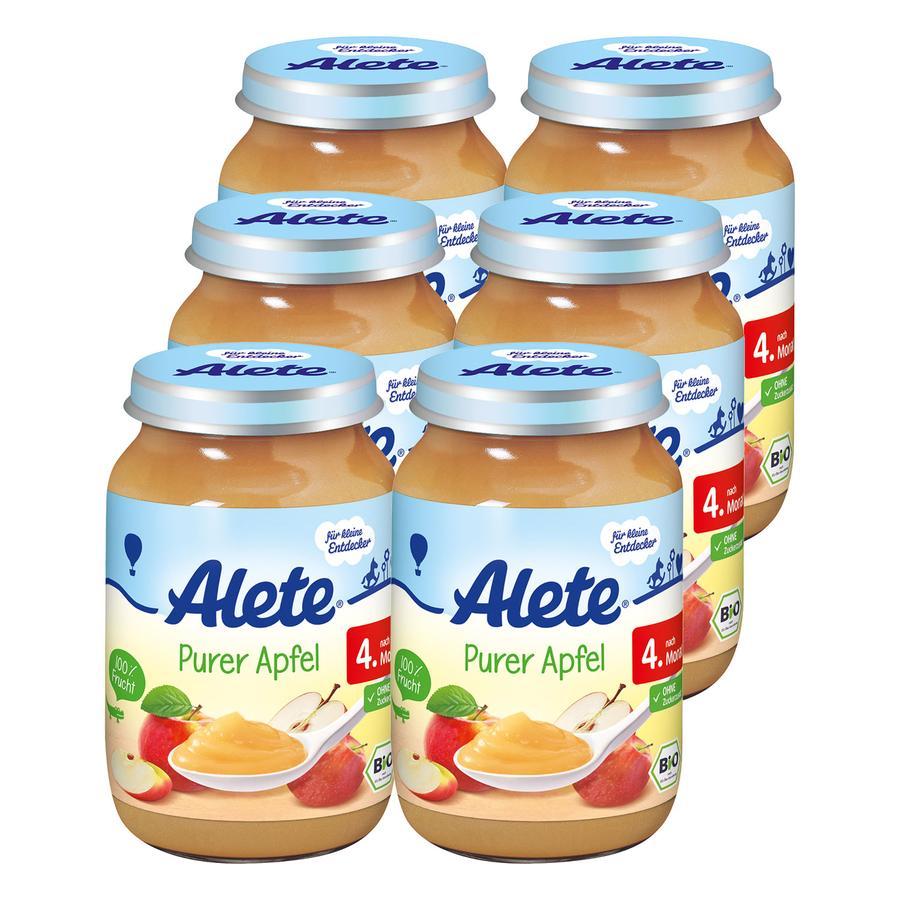 ALETE Purer Apfel 6x190g