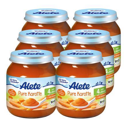ALETE Pure Karotten 6x125g