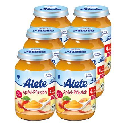 ALETE Apfel-Pfirsich 6x190g