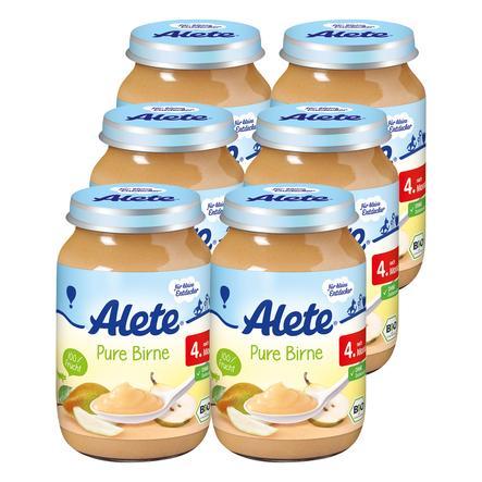 ALETE Pure Birne 6x190g