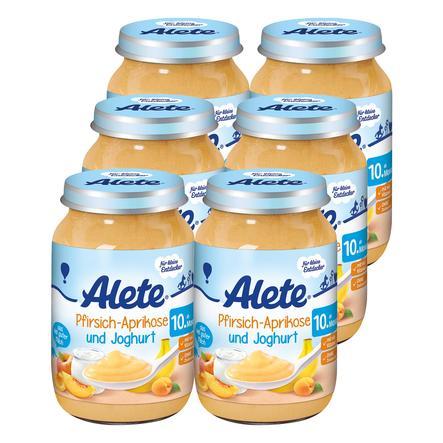 ALETE Pfirsich und Aprikose mit Joghurt 6x190g