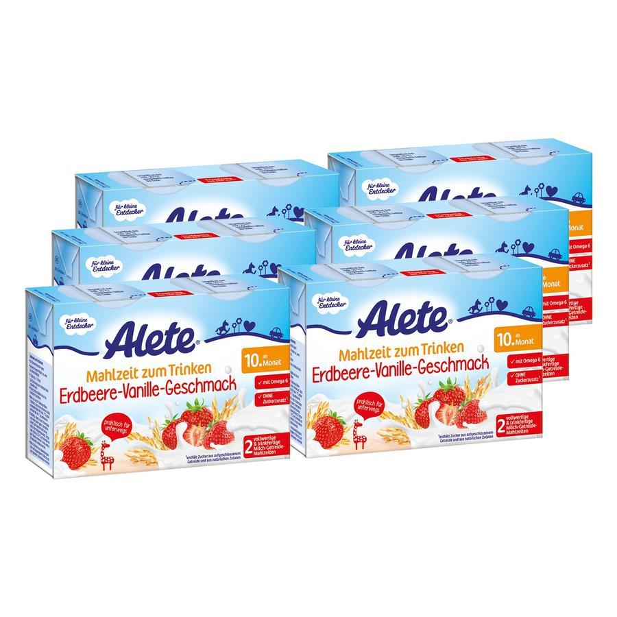 ALETE Mahlzeit zum Trinken Erdbeer-Vanille Geschmack 12x200ml