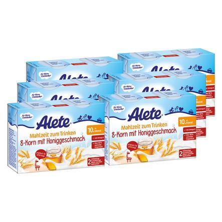 Alete Mahlzeit zum Trinken 8-Korn mit Honig 12 x 200 ml