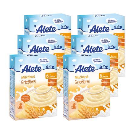 ALETE Grießbrei 6x450g