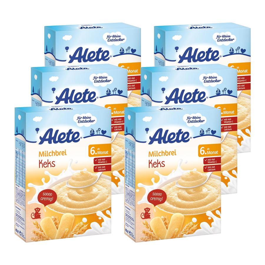 ALETE Milchbrei Keks 6x450g