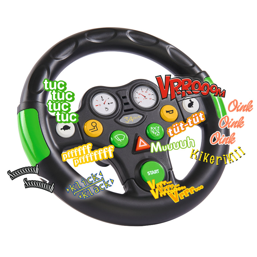 BIG Traktor-Sound-Wheel -ratti