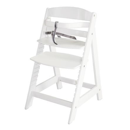 ROBA Jídelní židlička Sit Up III bíle nalakovaná