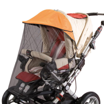 SUNNYBABY Sunshade VARIO with Removable Insect Net Terracotta