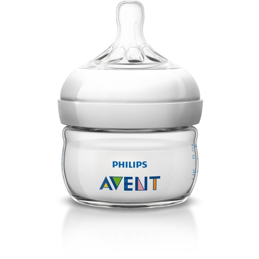 Philips AVENT Biberon Natural, 0 m, 60 ml SCF699/17