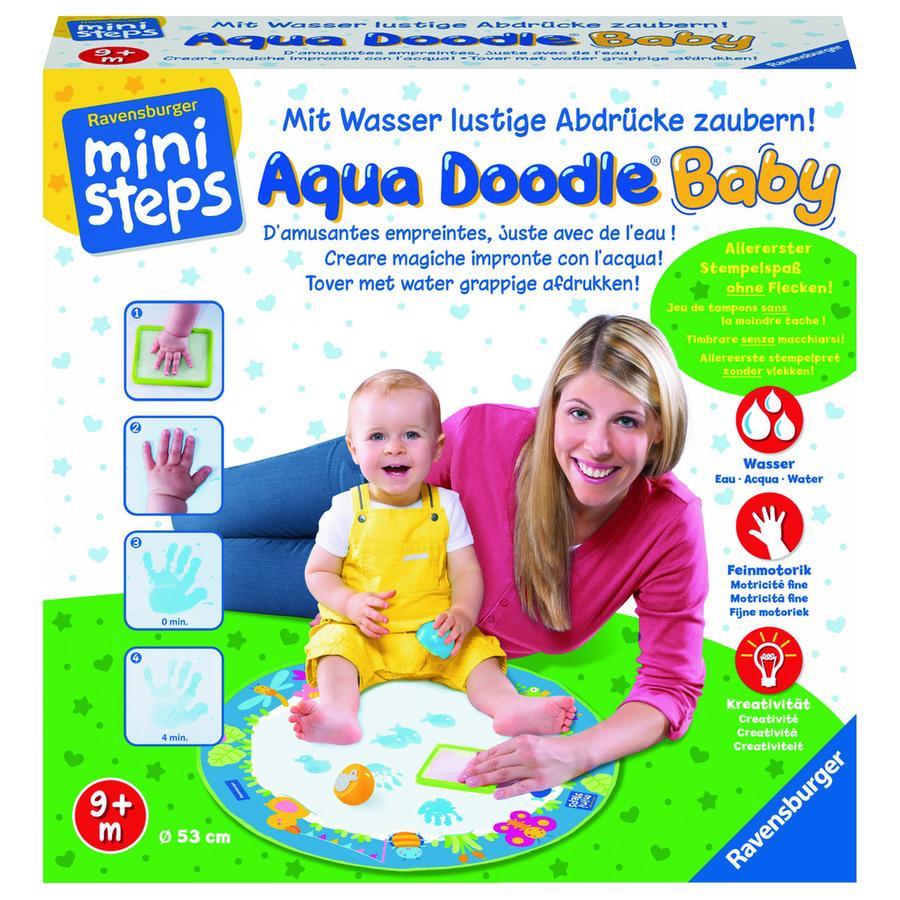 RAVENSBURGER Ministeps Tappeto Magico da Disegno Aqua Doodle® Baby