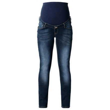 NOPPIES Umstands Jeans Mena Plus dark stone wash Länge: 34
