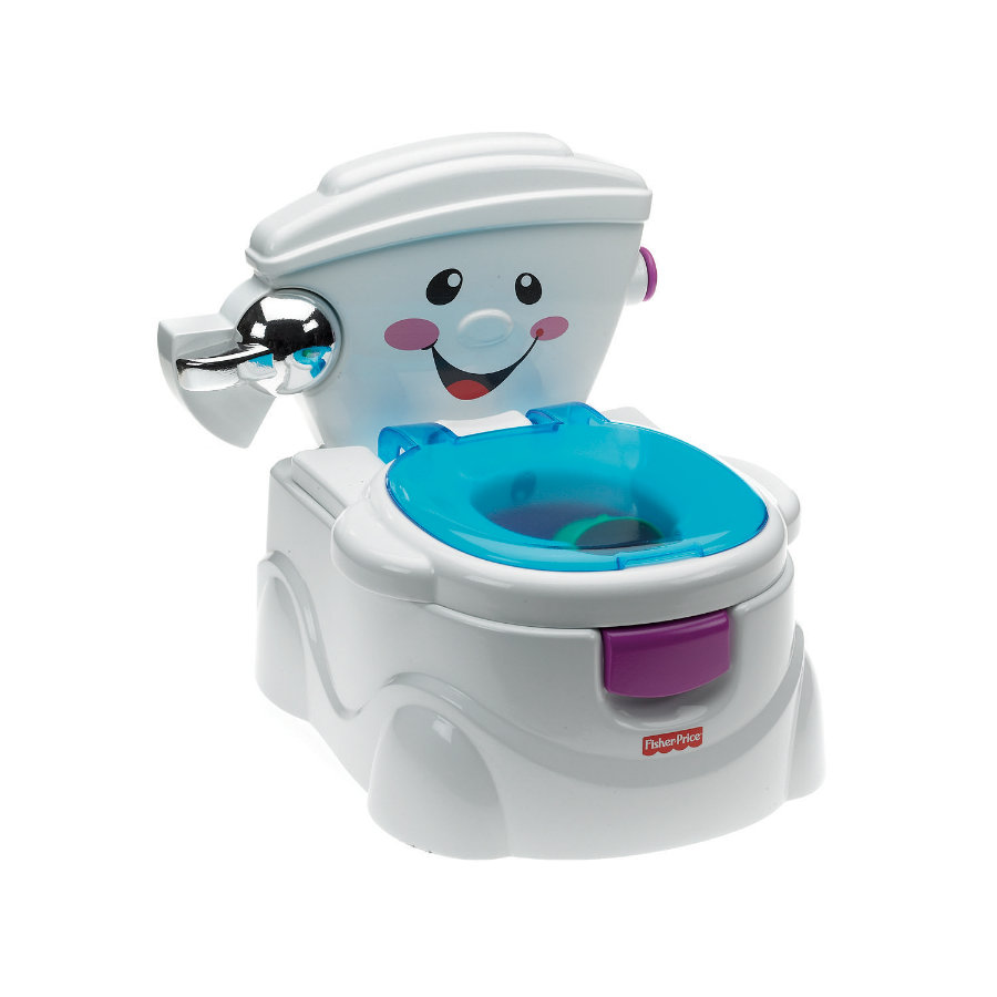 Fisher Price Baby Gear: Meine 1. Toilette