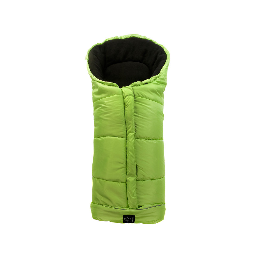 Kaiser Fußsack Iglu Thermo Fleece lime