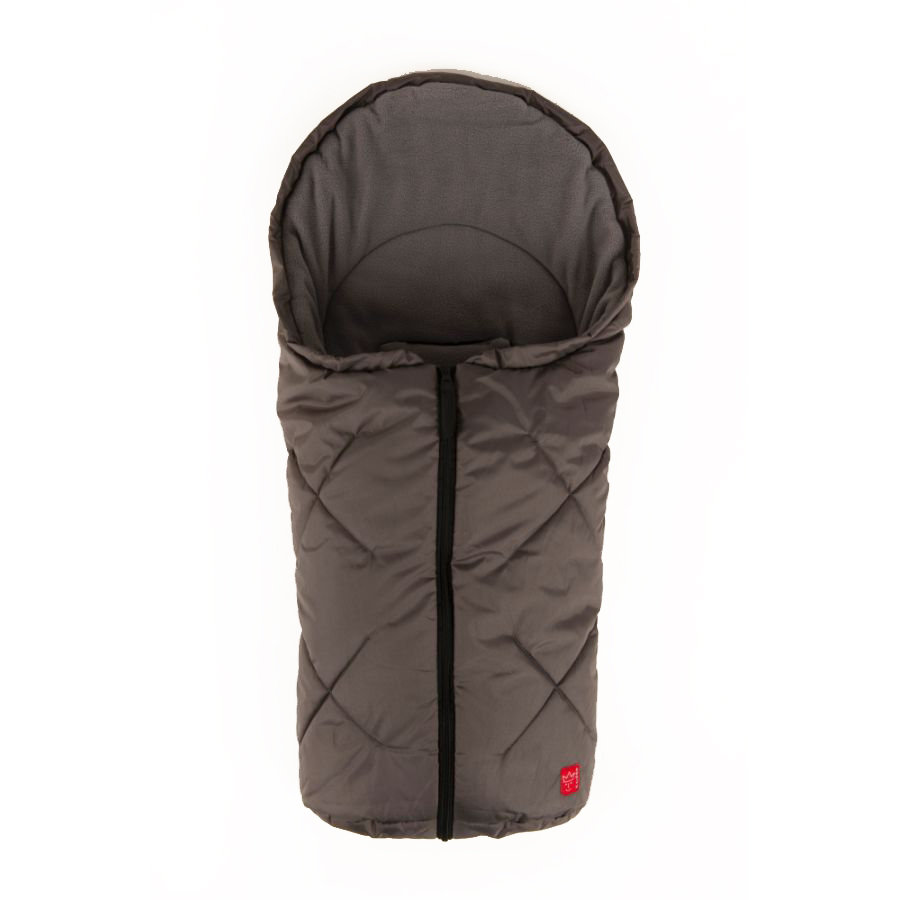 KAISER Footmuff Fleece anthracite/light grey