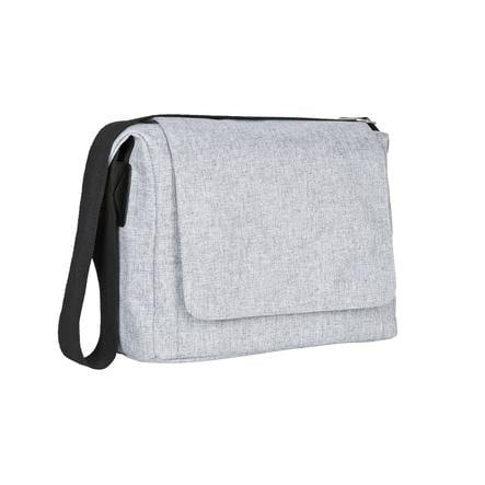 LÄSSIG Sac à langer Green Label Small Messenger Bag black melange