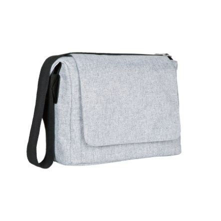 LÄSSIG Torba na akcesoria do przewijania Green Label Small Messenger Bag black melange