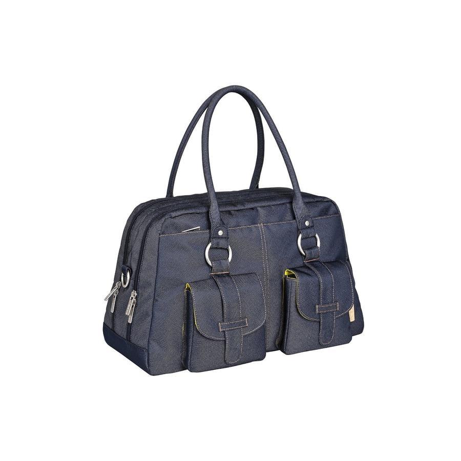 LÄSSIG Green Label Global Bag Ecoya blue