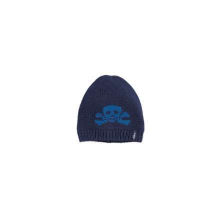 s.OLIVER Boys Mini gebreide dop medium blauw