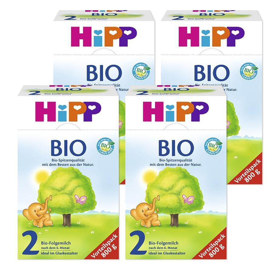 HiPP Bio 2 Folgemilch ab dem 7. Monat 4 x 800 g
