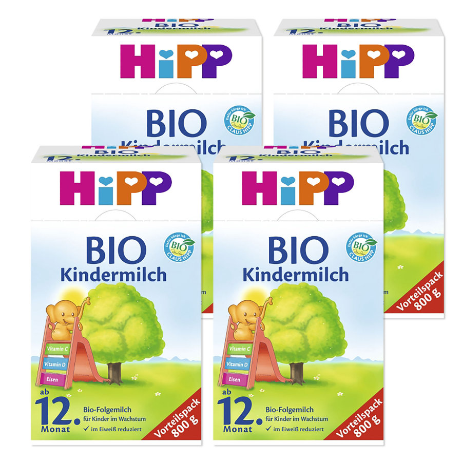 HiPP Bio Children's Milk 4*800g