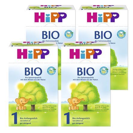 Hipp Bio 1 Infant Formula 4x600g