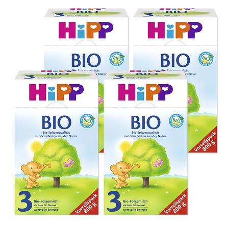 HiPP Bio 3 Follow-on Formula 4x800g