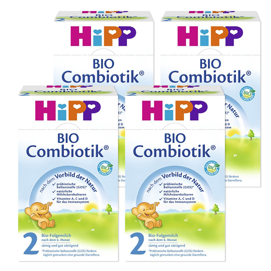 HiPP 2 Bio Combiotic® Follow-On Formula 4x600g
