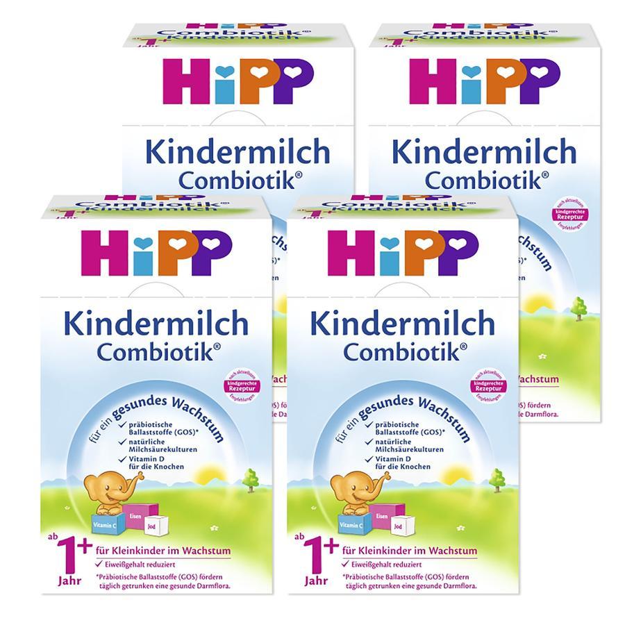 HiPP Kindermilch Combiotik® 1+ 4 x 600 g.